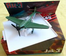 WWII 1941-45 Jak-3 ЯК-3 YAK-3 Airfighter Scale 1:72 Metal Model/Box/USSR-Russia