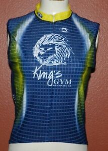 Woman's Louis Garneau Cycling/Triathlon Jersey Sleeveless Size Small King's Gym