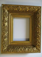 ANTIQUE 19TH CENTURY LARGE FRAME FOR A SMALL GEM PAINTING ORNATE HEAVY DUTY OLD