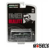 1968 FORD MUSTANG GT BULLIT Steve Mcqueen Greenlight Limited Edition 1/64 New