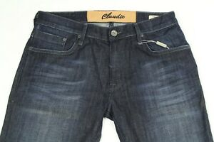 Mavi Daniel By Claudio Milano Men's Jeans Dark Wash Low Rise Skinny Size 34x34