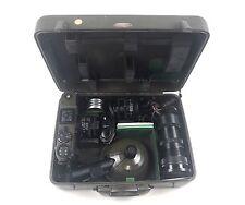 Vintage Graflex KE-4(1) Combat Camera Set Army Signal Corps KS-6(1) Halliburton