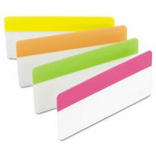 Post It Durable File Tabs 3 X 1 12 Bright Colors 24pack Mmm686ploy3in