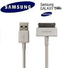 "Cable De Datos Usb Cargador Para Tablet Samsung Galaxy Tab 2 7"" 8.9"" 10.1 P5110 * Blanco *"