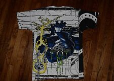 allover mega print deadstock 1993 VENOM 90s marvel comic t-shirt nos spiderman L