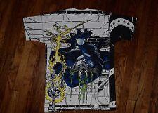 allover mega print deadstock 1993 VENOM 90s marvel comic t-shirt nos spiderman L