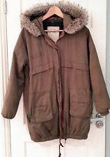 Zara Hip Length Cotton Zip Coats & Jackets for Women