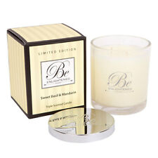 New candle Sweet Basil & Mandarin Triple Scented Candle 400g by Be Enlightened