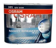 2 AMPOULES H1 OSRAM NIGHT BREAKER PLUS 12V 55W FORD FIESTA FOCUS GALAXY MONDEO