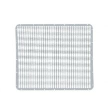 Peterbilt 379 Extended Hood Grille, Stainless Steel - Straight Oval Holes