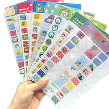 Cartoon Removable Book Notebook Index Name Sticker Label Writable FF