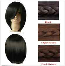 Fashion Short Wig Black Brown Straight Party Cosplay Women's Hair Wig /Wigs 30cm