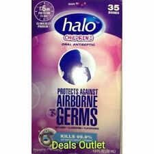 Halo Oral Antiseptic Spray 35 Doses Children's Grape 1 oz (2 PACK)