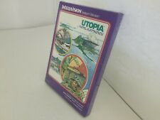 NEW MINT UTOPIA GATEFOLD STORYBOOK EDITION GAME FOR INTELLIVISION CONSOLE K31