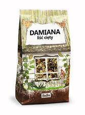 Damiana Herb (Turnera Diffusa) - Dried Cut Leaf BabaFood 100g