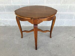 ETHAN ALLEN COUNTRY FRENCH LAMP TABLE (MODEL 26-8204) (FINISH 216)
