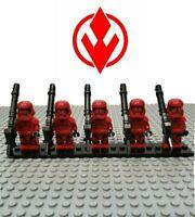 Star Wars Sith Troopers 5 Custom Minifigures Lot - USA SELLER