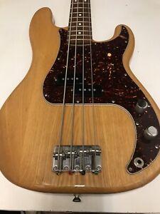 2007 Fender Precision Bass Electric Guitar Mexico