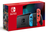 Nintendo Switch con Alegría Rosso Azul Consola Nintendo