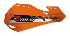 Paramani Rtech Dual Evo Handguards Arancio KTM Motocross Enduro Con Attacchi