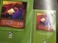 BJU  Bible Modular Series -That I May Know Him - TG & student book