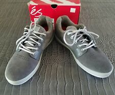 ES Skateboard SKATE SHOES ACCELERATE DARK GRAY SIZE 8 WOOL Rare