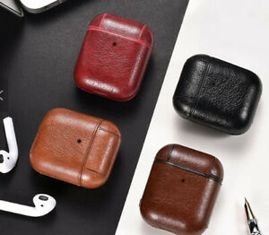 Quality Protective Leather Case Cover for Apple AirPods - Temporary Sales Price!