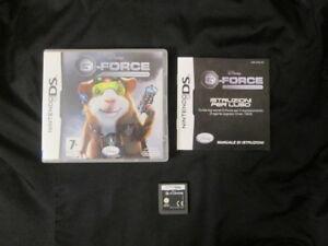 DS : DISNEY G-FORCE - Completo, ITA ! Compatibile 3DS e 2DS ! Dai 7 anni in su