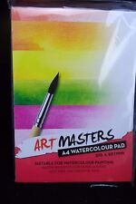 Art Masters - A4 Watercolour pad - for Watercolour painting - Free Postage