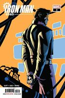 Iron Man 2020 #3 2020 Unread Pete Woods Main Cover Marvel Comics Dan Slott Gage