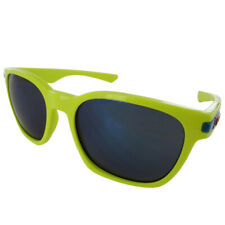 Oakley Mens 9175 Garage Rock Fashion Sunglasses, Fathom Neon Yellow/Ice Iridium