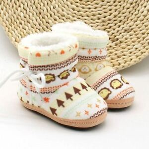 Baby Shoes Toddler Shoes Girl Boy Winter Baby Boots Warm Fleece Children Kids Sn