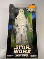 "SNOWTROOPER 12"" Star Wars MIB Collector Series Classic SEALED 1997 POTF Galactic"