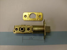 """Weslock #14652 replacement spring latch 2 3/8"""" Backset for handlesets-see photos"""