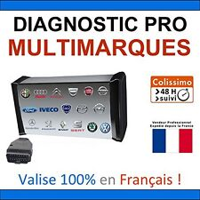 Valise Diagnostique Pro Multimarque En Français Obd Obd2 Diagnostic MPM-COM