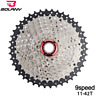 BOLANY 9 Speed Mountain Bike Cassette 11-42T Bicycle Freewheels Fit Shimano&SRAM