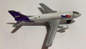 Vintage 1973 Matchbox FedEx Model Airplane 4 Inches Diecast A300B