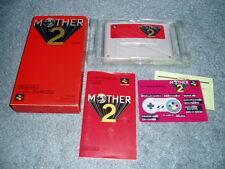 MOTHER 2 - earthbound - SNES Super Nintendo Complete SUPER FAMICOM