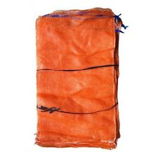 20 x Net Woven Sacks Vegetables Logs Kindling Wood Log Mesh Bags 50x65 cm 30 kg