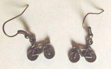Boucles d'oreilles couleur bronze vélo 14x16 mm
