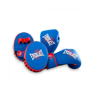Everlast Prospect Youth Training Kit with Boxing Gloves and Mitts