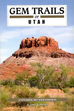 GEM TRAILS of UTAH book NEWEST EXPANDED REVISED EDITION new