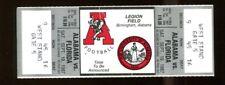 1987 Alabama v Florida Football Full Ticket 9/19/87 Emmitt Smith 1st Start