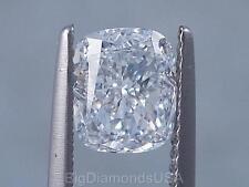 1.50 CARATS CUSHION CUT CERTIFIED LAB GROWN DIAMOND D VS2