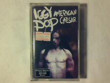 IGGY POP American Caesar mc cassette k7 ITALY STOOGES RARISSIMA SIGILLATA SEALED