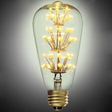 Modern 3W LED E27 Reminiscent Light Bulb With Flower Filaments