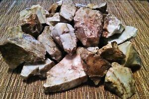 5 POUNDS!! USA Ozark CHERT FLINT LARGE PIECES rough stone rock PRIMITIVE FIRE