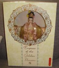 Barbie Empress of the Golden Blossom Barbie Doll W/Shipper xb700