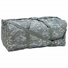"New BIG 39"" CAMO Water Resistant DUFFLE Tote Bag Camouflage Green Stuff Sack"