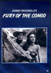 Fury Of The Congo - Johnny Weissmuller - DVD - Region 1 - FAST POST